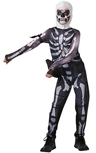 Rubies 300194-TW Fortnite - Disfraz Skull Trooper para niños, 11-12 años (152 cm)