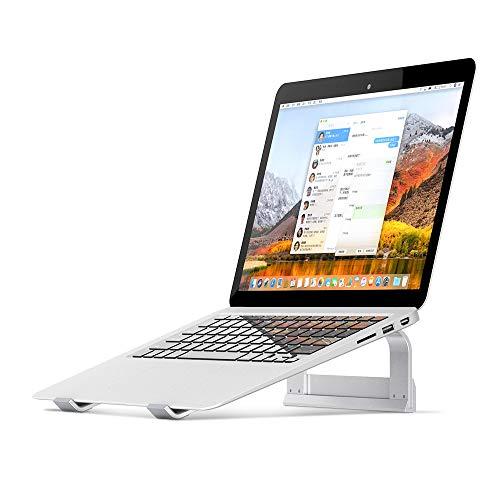 Supporto PC Portatile, Supporto per Laptop Ventilato in Alluminio con Angolo, Supporto Ergonomico...