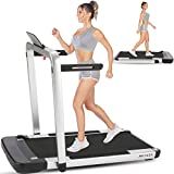 ANCHEER Folding Treadmill with Remote Control 2.25HP, Electric Under Desk Treadmill for Home, Walking & Running Machine