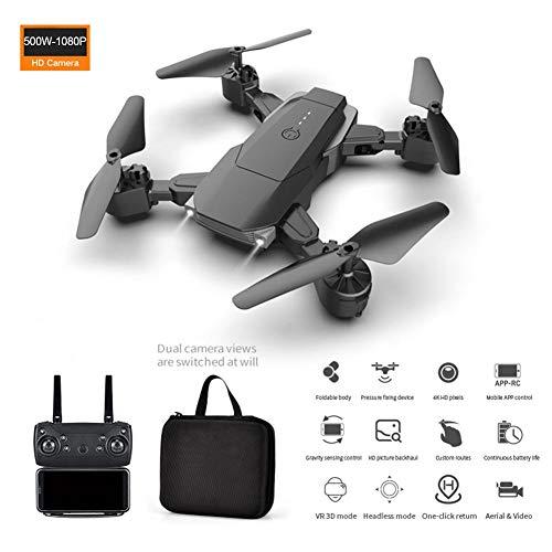 Droni HD 4K, Quadricottero K2 doppia fotocamera Quaderno a lunga durata Altitudine Tenere HD 4K...