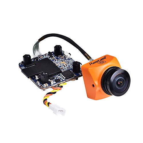 RunCam Split 3 Micro FPV Camera FOV 165 Degree DC 5-20V M12 Lens 1080P HD Recording WDR NTSC PAL Switchable for FPV Racing Drone Orange