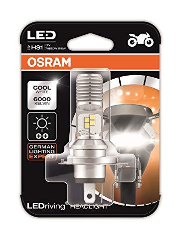 OSRAM LEDriving HEADLIGHT for bikes HS1 7285CW 5/6W 12V PX43T Blister Pack, Cool White