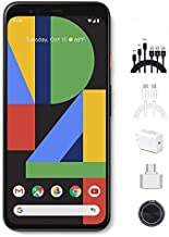 Google - Pixel 4 Unlocked Android Smartphone with 64GB Memory Cell Phone Unlimited Cloud Storage (Black), AT&T/T-Mobile/Ve...