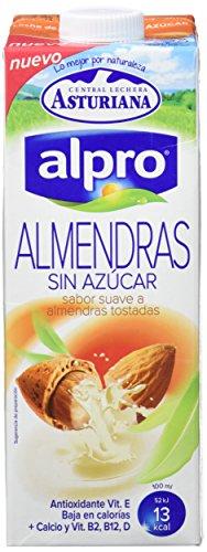 Alpro Central Lechera Asturiana Bebida de Almendra Sin Azúc