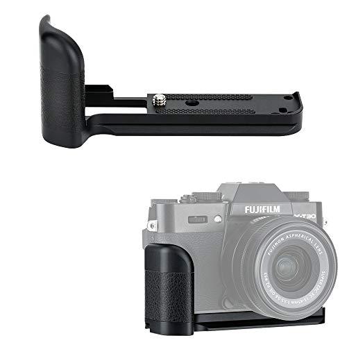 JJC 金属ハンドグリップ 富士フィルム Fujifilm X-T30 X-T20 X-T10 カメラ適用 MHG-XT10 ハンドグリップ 互換用