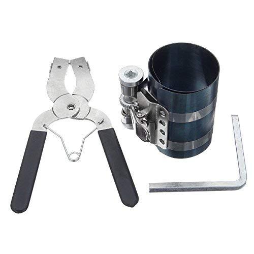SUCAN Pinza per fasce elastiche Pistone Installatore Compressore Cricchetto Pinza Estrattore...