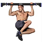 """AKA Pull Up Chin Up Bar, Upper Body Workout Door Exercise Bar Without Screw Installation, Doorway Pull up Bar with Locking Mechanism System, with 28.15"""" - 37.5''"""