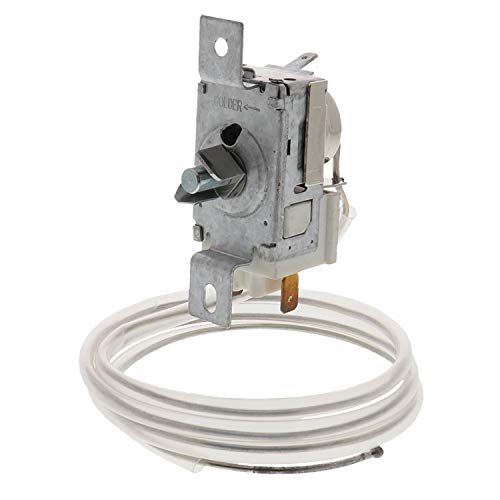 Whirlpool 2198202 Thermostat for Refrigerator, SILVER