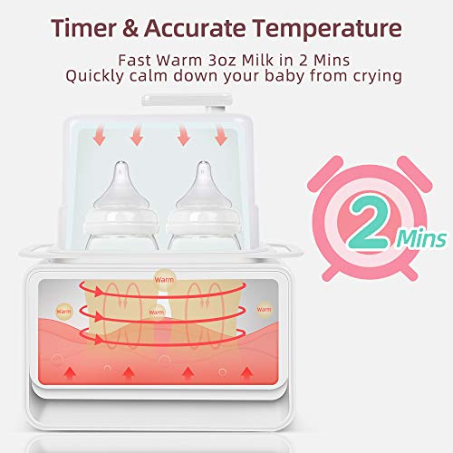 Bottle-Warmer-Baby-Bottle-Warmer-and-Sterilizer-Muchcare-5-in-1-Smart-Thermostat-Warmer-with-Large-LCD-Display-and-Night-Light-Fast-Heat-Breast-Milk-or-Baby-Formula-in-2-Minutes