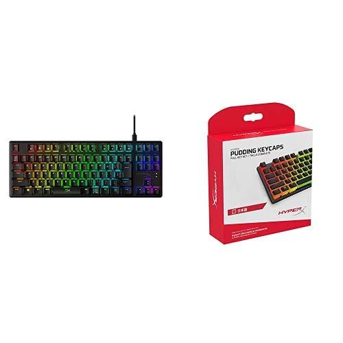 【日本語配列 キートップセット】HyperX Alloy Origins Core RGB メカニカルゲーミングキーボード テンキー...