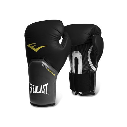 Everlast - Pro Style - Guantes de entrenamiento - 2314, 14 oz, Negro