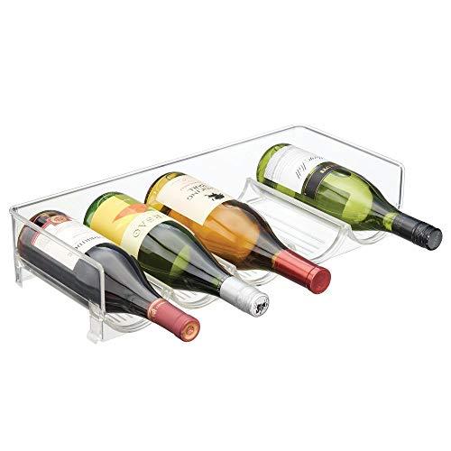 mDesign Cantinetta assemblabile Cantinetta vino per bottiglie dacqua e bottiglie di vino...