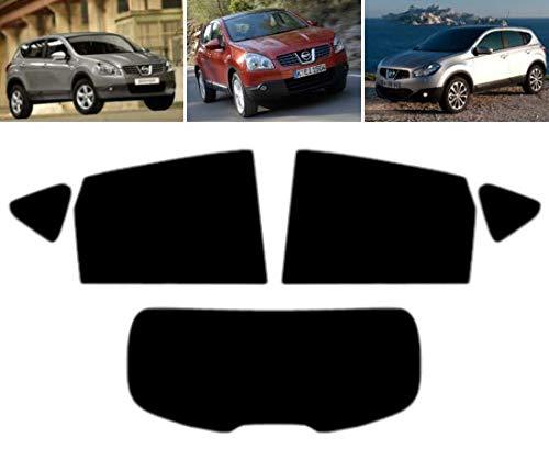 Tintcom.com Pellicola Oscurante Vetri Auto Pre-Tagliata per-Nissan Qashqai 5-Porte 2007-2013 Vetri Posteriori & Lunotto (35% Fumo Medio)