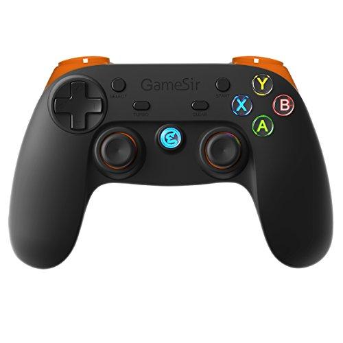 GameSir G3s Bluetooth コントローラー スマホ タブレット テレビ PC PS3 Steam ゲーム対応ゲームパッド 有線無線両対応(オレンジ)