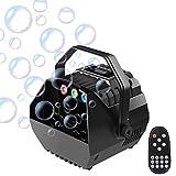 Machine à Bulles, UKing Soufflante à Bulles Portable avec lumière RGB et...