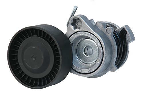 URO Parts 11287512758 A/C Drive Belt Tensioner w/Pulley, Includes NTN/NSK Bearing