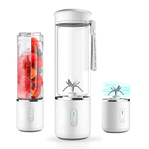 SOFIT Mini Blender Smoothie, Rechargeable avec USB Verre Fruit Juicer,...