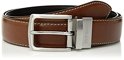 The Steve Madden's men's casual dress belt is the ideal belt to transition your outfit from casual daywear to work wear or dressy occasion. Perfect men's casual dress belt that will soon become your favorite go-to everyday belt. The perfect men's bel...