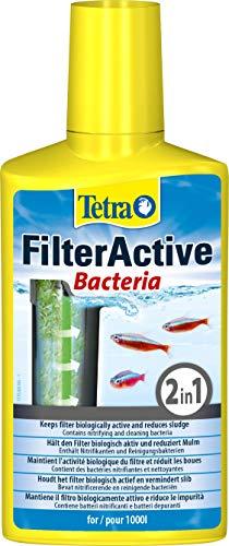 Tetra FilterActive 250 ml - Contiene bacterias iniciadoras vivas y...