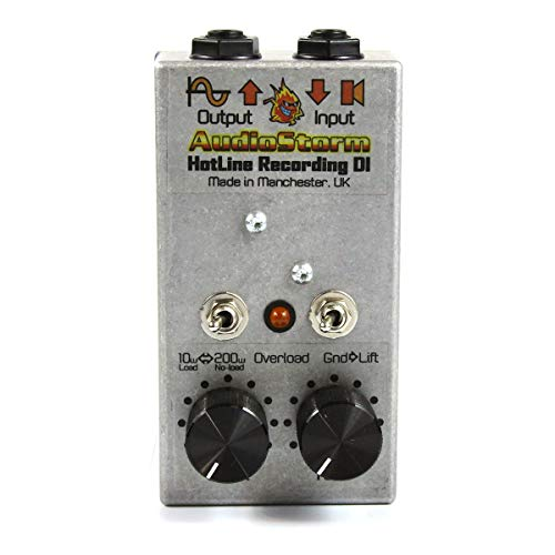 Audiostorm Hotline DI recording attenuator for guitar tube amp