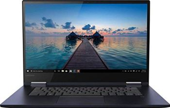 """Lenovo - Yoga 730 2-in-1 15.6"""" Touch-Screen Laptop - Intel Core i5 - 12GB Memory - 256GB Solid State Drive - Abyss Blue"""