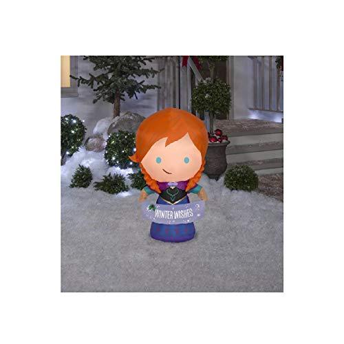 Gemmy 114776 Anna Inflatable, Multi