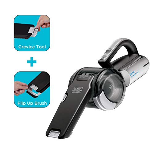 Product Image 3: BLACK+DECKER 20V Max Handheld Vacuum, Cordless, Grey (BDH2000PL)
