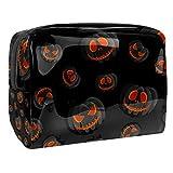 Grimace Skull - Maletín portátil de viaje para mujer, de PVC, 19 x 7 x 12 cm, para cosméticos