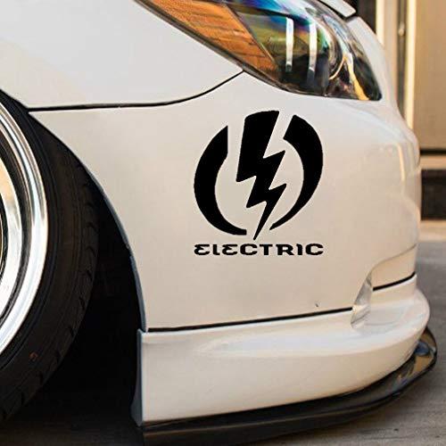 pegatinas coche bebe 14.7Cmx16.3Cm Dibujos animados Interesante Entrega Futuro Combinado con Electric Making Car Sticker Delicate Decal para Car Laptop Window Sticker