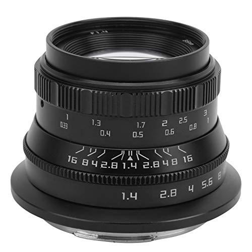 EOS R/RP / R5 / R6用固定レンズ、アルミ合金フルフレームレンズ
