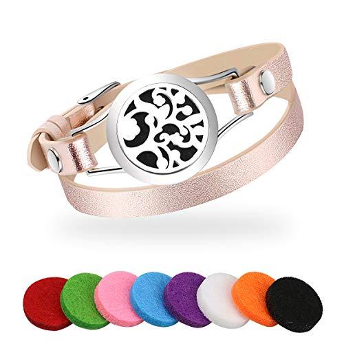 Achort Bracelet Aromatique Diffuseurs d'huiles Essentielles Bracelet Bijoux...