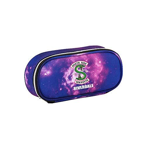 Riverdale Astuccio per Matite Astuccio per matite con grande capacit di cancelleria pratica per astuccio per studenti (Color : Purple16, Size : 21 X 5.5 X 10cm)