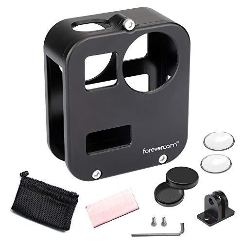 Forevercam - Custodia Protettiva in Alluminio Compatibile con Gopro Max, Gopro Max 360 Accessori con Protezione per Obiettivo