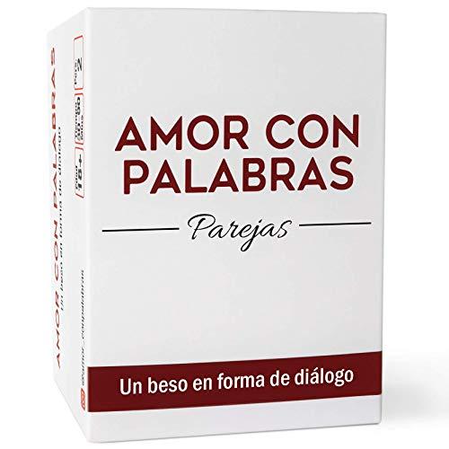 AMOR CON PALABRAS - Parejas   Juegos de Mesa para Dos Personas Que fortalecen Las relaciones convirtiéndolos en inmejorables Regalos para mi Novio o Novia