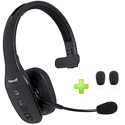 BlueParrott B450-XT Noise Canceling Bluetooth Headset - Noise Canceling Microphone for Truckers, Warehouse, Road Warriors, Construction Zones, Bluetooth Auricular Inalambrio
