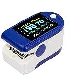 Lunasea Oxymètre de doigt SpO2 pour suivi de la saturation en oxygène du...