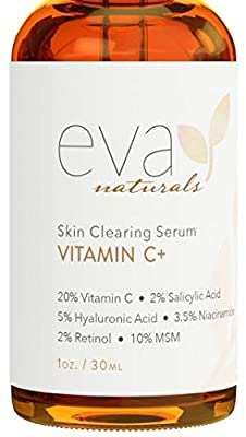 Best Anti Aging Serum - Loaded with antioxidants, our Vitamin C Serum helps protect against UV rays while repairing sun-damaged skin. For an anti-aging boost, Hyaluronic Acid provides incredible hydration by holding up to 1000 times its weight in wat...