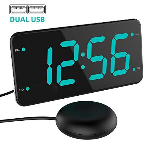 41IiHWrOafL - Best Alarm Clock for Deaf In 2020