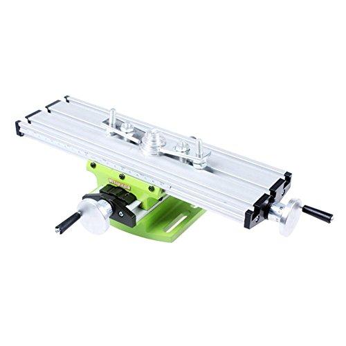 Tavolo a Croce di Precisione Tavolo a Croce per Trapano a Colonna Tavolo da Lavoro Multifunzione per Fresatrice