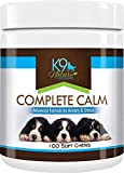 K9 Nature Supplements: Complete Calm - 100 Soft Chews for Dogs -...