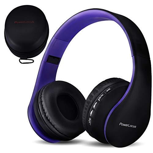 PowerLocus P1 – Auriculares Bluetooth inalambricos de Diadema Cascos...