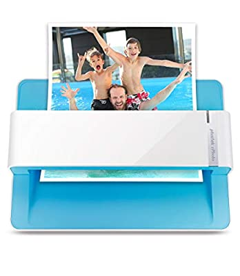 The easiest way to scan photos and documents. Supports 3x5, 4x6, 5x7, and 8x10 in sizes photo scanning but also letter and A4 size paper. Optical Resolution is up to 600 dpi ( PS: two setting: 300dpi/ 600dpi). Fast and easy, 2 seconds for one 4x6 pho...