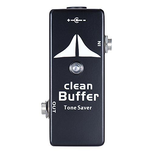 ammoon Mini Clean Buffer Guitar Effect Pedal Tone Saver Zinc-aluminium Alloy Body