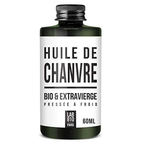Aceite de cáñamo 100% orgánico, puro y natural, prensado en frío y extra virgen, fortalecimiento del cabello y antienvejecimiento, hidratación del cabello y para una piel tensa
