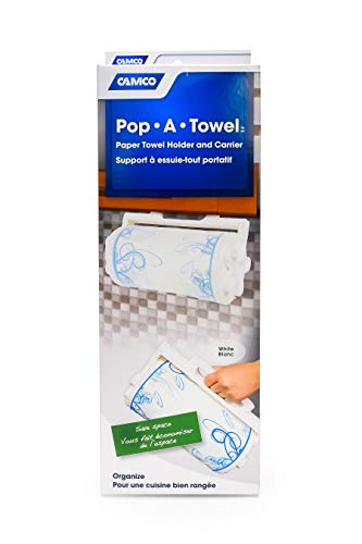 Camco  Pop-A-Towel- Mountable or Portable Paper Towel Holder...