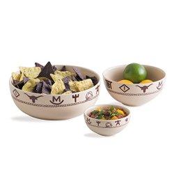 Western Three Piece Bowl Set