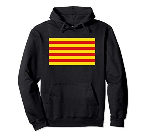 Bandera catalana de catalán - Senyera Sudadera con Capucha
