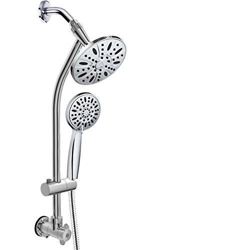 Acqua Dance Drill-Free Combo Shower Head