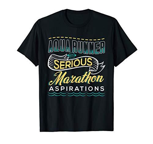 AQUA JOGGING Gift For Aquajogger Sport Fitness T-Shirt