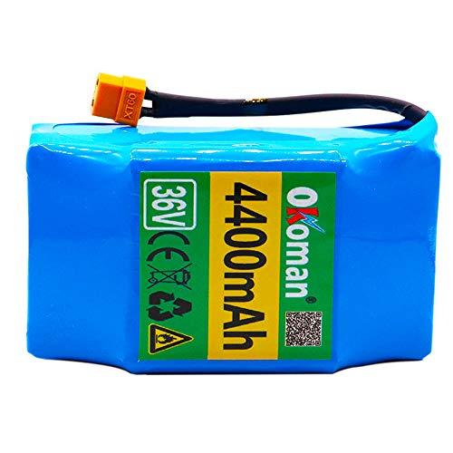 Batteria Ricaricabile agli ioni di Litio 36V 4.4ah 10S2P Batteria agli ioni di Litio per Scooter Elettrico Hoverboard Monociclo